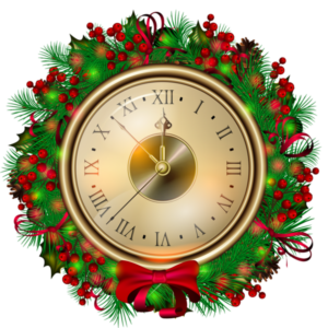 Transparent_Christmas_Clock_PNG_Clipartt
